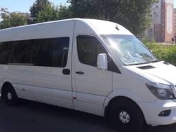 Пассажирские перевозки микроавтобусами, автобусами, л/а