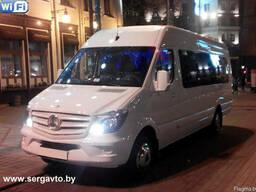 Пассажирские перевозки, аренда микроавтобусов