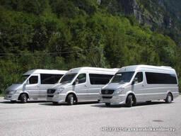 Пассажирские перевозки туристическим автобусом