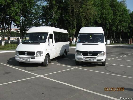 Пассажирские перевозки в Барановичах,14-19мест, ТВ, микрофон