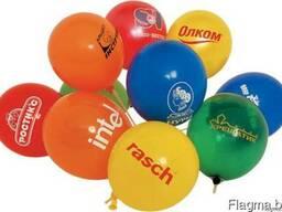 Печать на шарах, шарики с логотипом, воздушные шары с логоти