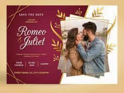 Печать приглашений и открыток