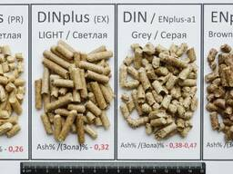Пеллеты светлые (топливные гранулы)