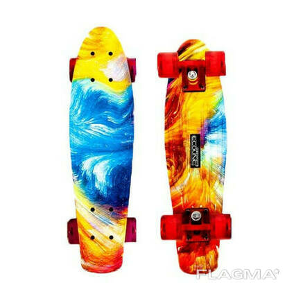 Penny board (пенни борд) Ecoline Bora New abstraction