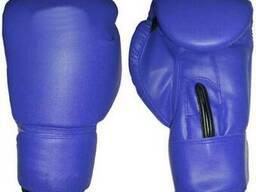 Перчатки боксерские серии XQ, японский полиуретан, красные, синие (6, 8, 10 унций)