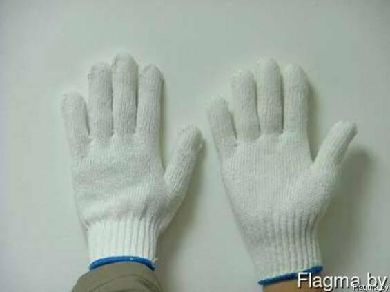 Перчатки х/б , 10 класс, 4-нитка