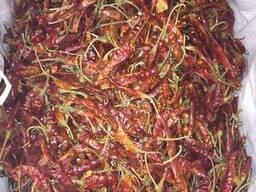 Перец красный стручковый острый (чили)