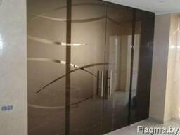 Перегородки из стекла, цельно стеклянные, коркастные перегор - фото 4