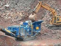 Переработка (дробление) строительных отходов.