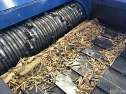 Переработка отходов деревообработки (ящики, обрезки).