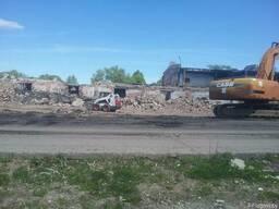 Переработка строительных отходов, снос зданий и сооружений.
