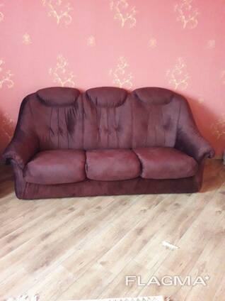 Перетяжка мебели, ремонт мягкой мебели.