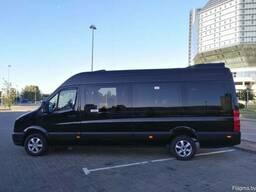 Перевозка пассажиров микроавтобусом