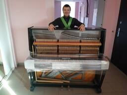 Перевозка пианино опытные грузчики