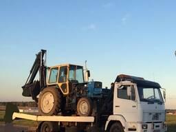 Перевозка спецтехники, тракторов