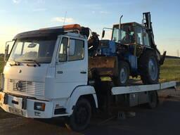 Перевозка тракторов, спецтехники