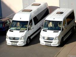 Перевозки автобусами 5-16 мест, автобус на свадьбу