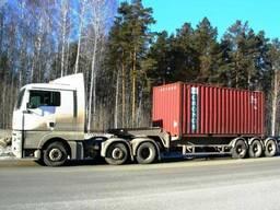 Перевозки контейнеров, контейнеровозы