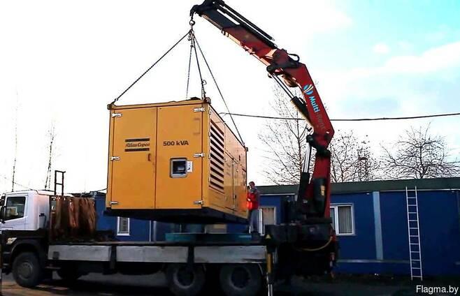 Перевозка станков и оборудования манипуляторм