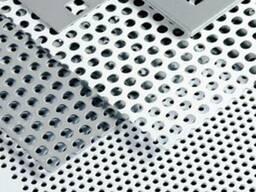 Перфорированный алюминиевый лист под декоративную отделку