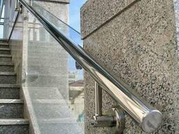 Перила для лестниц из нержавеющей стали в Минске