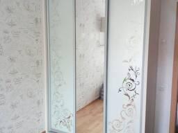 Пескоструйная обработка на зеркале, стекле