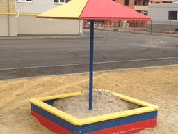 Песочница с грибком