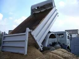 Песок для бетонных работ