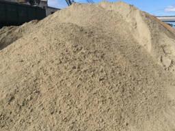 Песок, гравий, сеяный