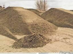 Песок речной 20т.