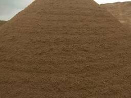 Песок сеянный 1-го класса с доставкой. ГОСТ.