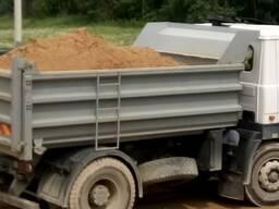 Песок строительный , карьерный , речной , с доставкой