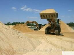 Песок строительный самосвалом 10 20 25 30 тонн