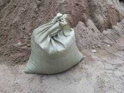 Песок в мешках с доставкой на дом