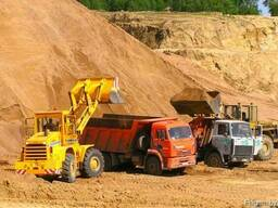 ПГС, песок, гравий, щебень, торф. Доставка песка, любых кла