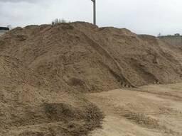ПГС, песок речной, песок сеянный, щебень