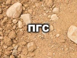 Пгс, песок, щебень, гравий, навоз, грунт, бетон.