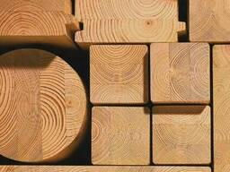 Пиломатериалы под заказ из массива натурального дерева
