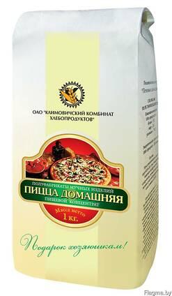 """Пищевой концентрат """"Пицца домашняя"""" 0,9 кг"""