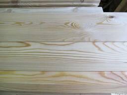 Планкен скошенный лиственница сиб. 18х85-135х2,0-6,0м сортАВ - фото 2