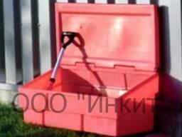 Пластиковый ящик для песка и соли 500 литров