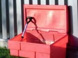 Пластиковый ящик для песка на 500 литров