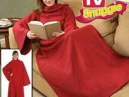 Плед-одеяло с рукавами Snuggie (4 цвета)