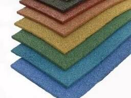 Плитка резиновая 500х500х10 мм
