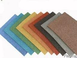 Плитка резиновая 500х500х20 мм