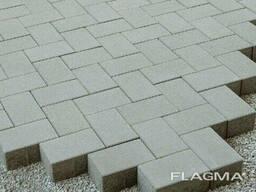 Плитка тротуарная кирпичик 6см и 8см