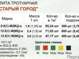 """Плитка тротуарная """"Старый город"""""""