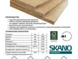 Плиты теплозвукоизоляционные (классQ1) 12мм
