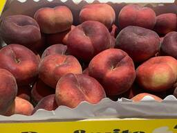 Плоский персик из Испании. Прямые поставки