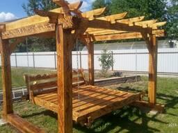 Мебель для дачи масив дерева декор